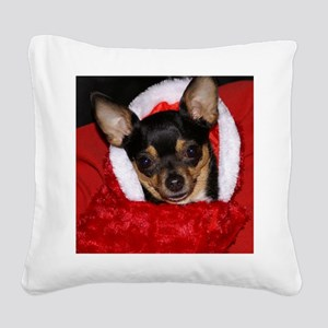 AbbeyXmasBlanket Square Canvas Pillow