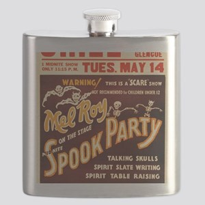 Vintage Halloween Party Flask