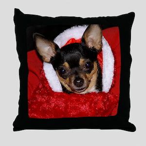 AbbeyXmasBlanket Throw Pillow