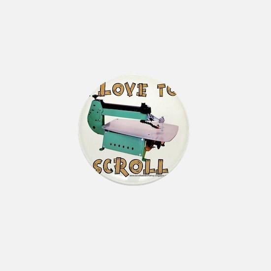 ilovetoscrollEX2 Mini Button