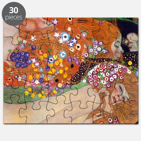 Gustav Klimt Water Serpents Puzzle