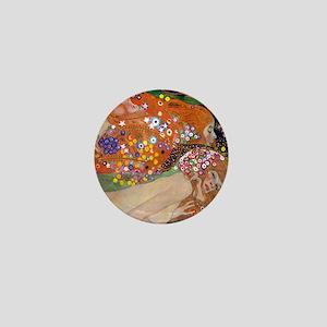 Gustav Klimt Water Serpents Mini Button