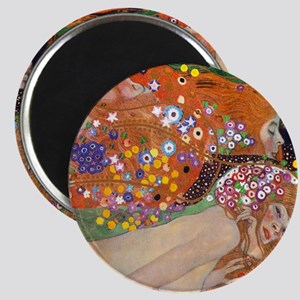 Gustav Klimt Water Serpents Magnet