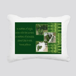 Principle_11 Rectangular Canvas Pillow