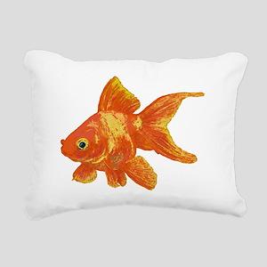 Goldfish Rectangular Canvas Pillow