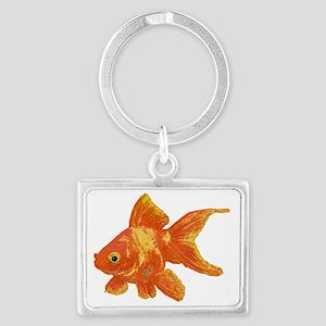 Goldfish Landscape Keychain
