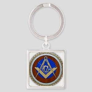 Freemasonry Square Keychain