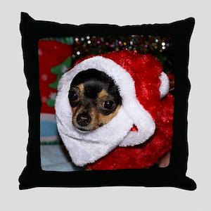 AbbeyXmasBlanket3 Throw Pillow