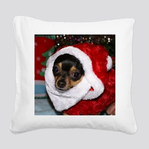 AbbeyXmasBlanket3 Square Canvas Pillow