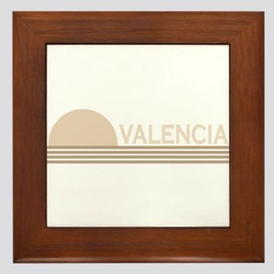 Valencia, Spain Framed Tile