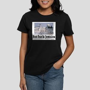 Next Year In Jerusalem Women's Dark T-Shirt