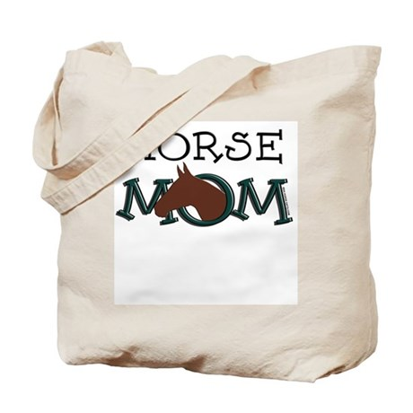 Horse mom bay horse Tote Bag