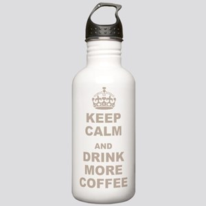 Keep Calm and Drink Mo Stainless Water Bottle 1.0L