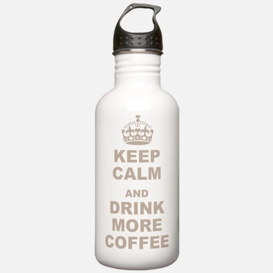 Keep Calm and Drink Mo Water Bottle