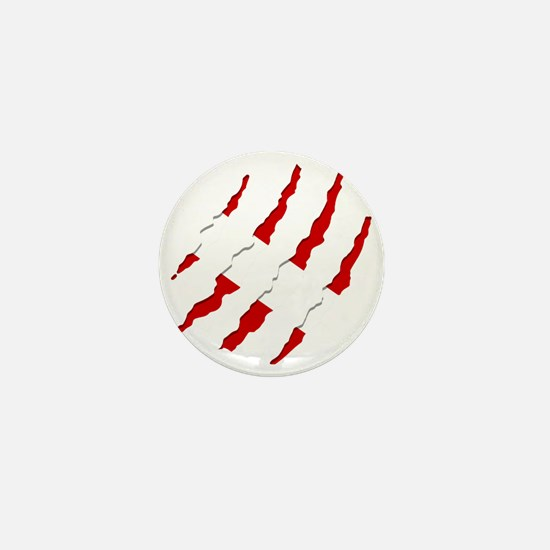Dive Flag Scratches Mini Button