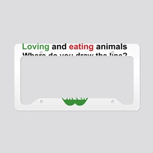 Eat Green License Plate Holder