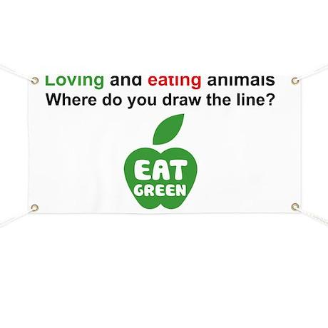 Eat Green Banner