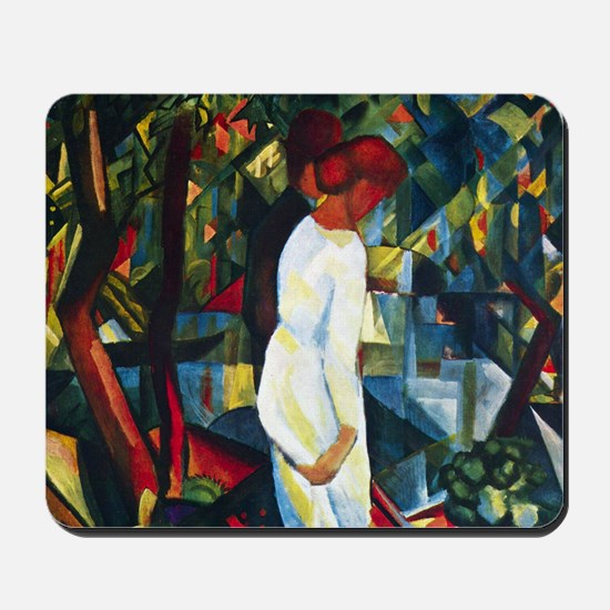August Macke Couple In The Forest Mousepad