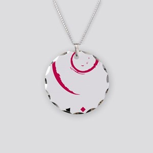 sem tat baby thing Necklace Circle Charm