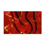 Heart of Fire 35x21 Wall Decal