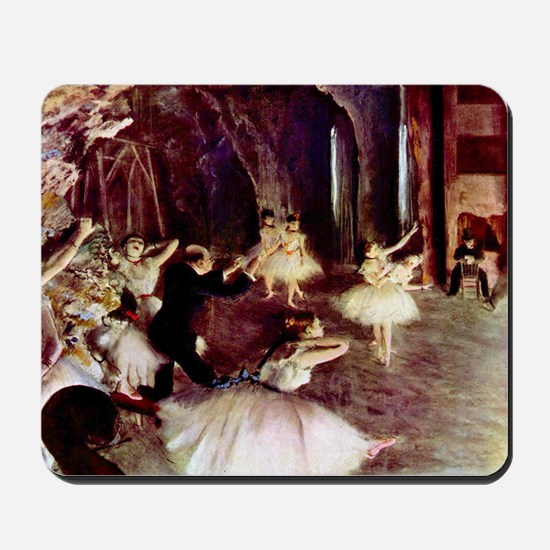 Edgar Degas Stage Trial Mousepad