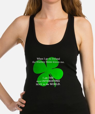 Most Interesting Man In The Wor Racerback Tank Top