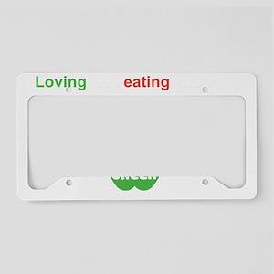 Eat Green License Plate Holder