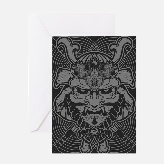 Samurai Rising Greeting Card