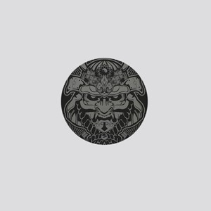 Samurai Rising Mini Button