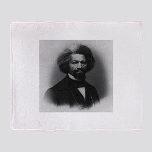 Frederick Douglass Throw Blanket