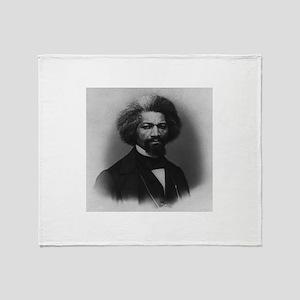 Frederick Douglass Throw Blanket