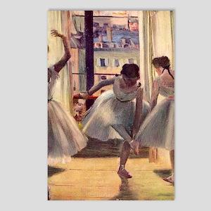 Edgar Degas Three Dancers Postcards (Package of 8)