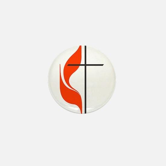 Cute Methodist Mini Button
