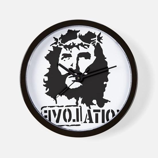 Jesus Christ Revolation Wall Clock