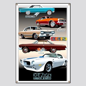 1960s Muscle Cars Banner