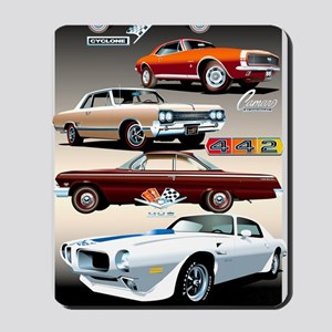 1960s Muscle Cars Mousepad