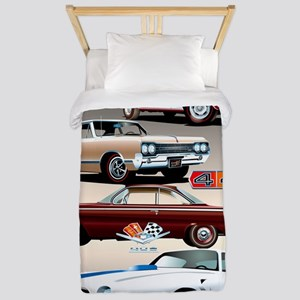 1960s Muscle Cars Twin Duvet
