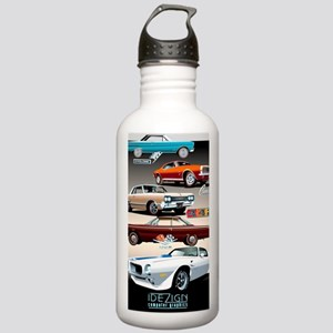 1960s Muscle Cars Stainless Water Bottle 1.0L