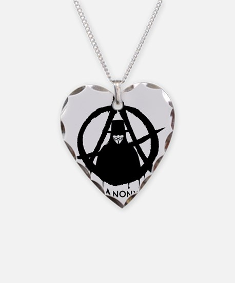 A for Anonymous Necklace