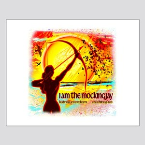 Dreams of Katniss Small Poster
