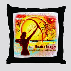 Dreams of Katniss Throw Pillow