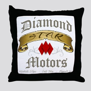DSM - Old English Throw Pillow