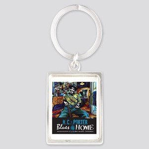 T Model Ford Portrait Keychain