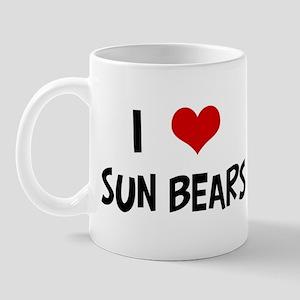 I Love Sun Bears Mug