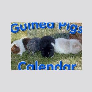 Guinea Pigs #1 Wall Calendar Rectangle Magnet
