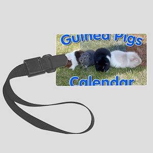 Guinea Pigs #1 Wall Calendar Large Luggage Tag