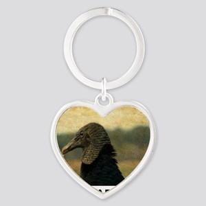 ancient vulture Heart Keychain