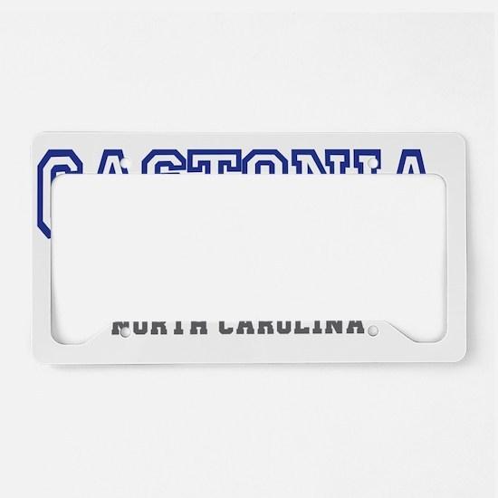 Gastonia, North Carolina, NC, License Plate Holder