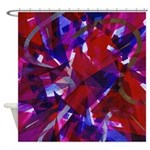 Heart of Fire Shower Curtain