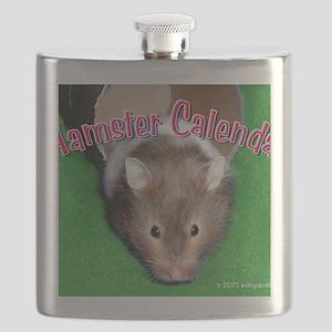 Hamster Wall Calendar Flask